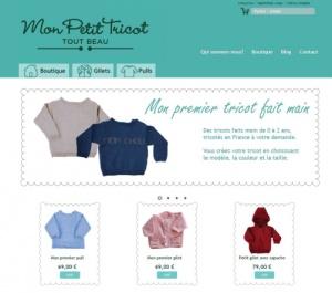 site de tricot pour enfant